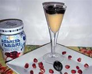 Amarena Shot Glass Dessert