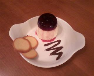 Pannacotta with Fabbri Amarena jelly