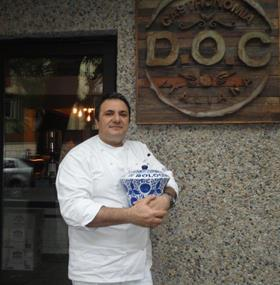 "Stefano Pace, a ""D.O.C."" Italian Chef"