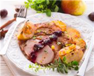 Turkey with Chestnut and Amarena